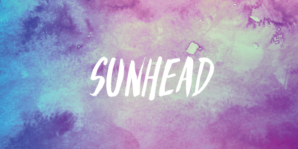 Sun Head Beach Hair Cosmetics Branding and Packaging