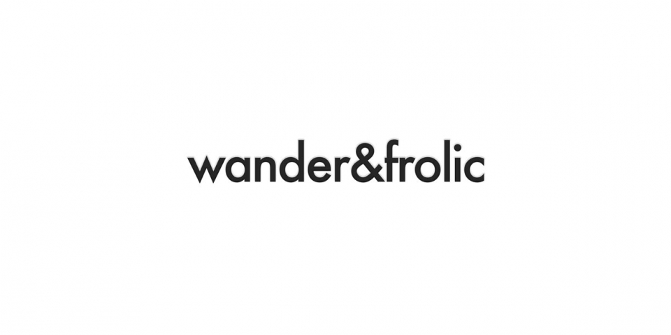 wander&frolic Haircare Packaging and Branding