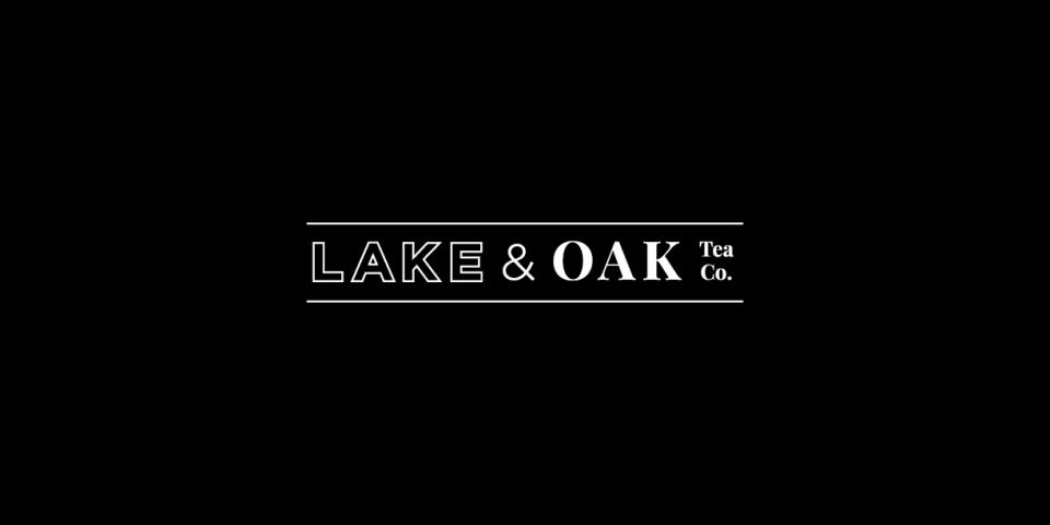 Lake & Oak Tea Co. Branding and Packaging